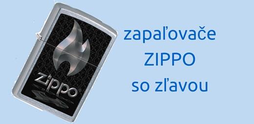 Zippo zapaľovače so zľavou