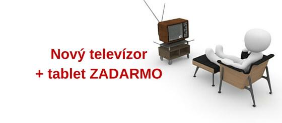 K televízoru tablet zadarmo